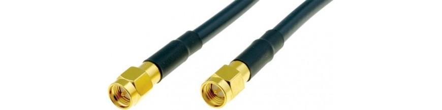 Cables, adaptadores y conversores para conectores con conexion tipo SMA