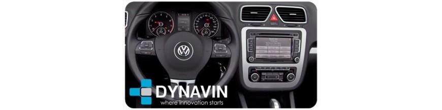 Autoradio 2din car dvd gps hd bluetooth usb sd manos libres volkswagen eos 2008-2014