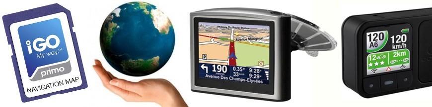 Mapas, GPS, radares