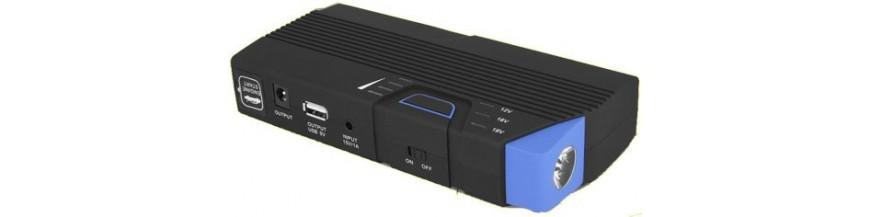 Arrancador de emergencia para coches, batería portatil para ordenadores, móviles, video consolas...