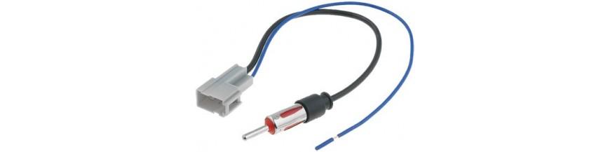 Antenas de radio MAZDA ✅ de calidad 12V. Conectores de antena para coche Mazda - Dynavin