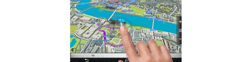 CD, DVD, GPS, TDT para interfaces