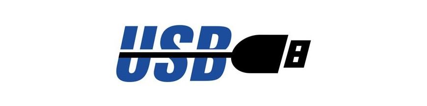 USB, SD (SIN CD, SIN DVD)