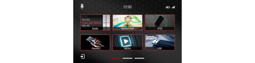 Donde comprar Radios multimedia OEM con garantía Dynavin N7. Android Link, Apple Link, manos libres Parrot