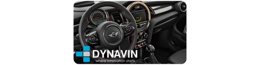 ▷ Mini 3 Generación F54 F55 F56 F57 (+2014) Pantalla Multimedia | CarPlay | Cámaras | Interfaces en DYNAVIN España