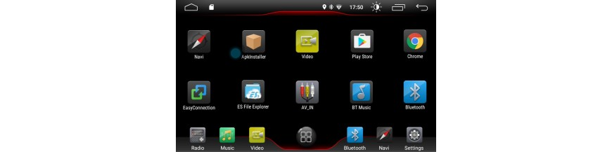Radios Android K7