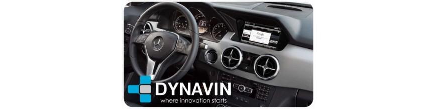 ▷GLK Pantallas Multimedia | CarPlay | Cámaras | Interfaces en DYNAVIN España